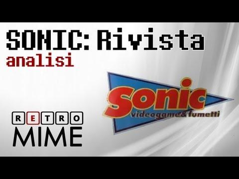 RetroMime - Analisi rivista Sonic!