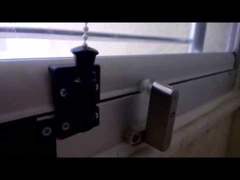 Alarmlı Güvenlik Kilidi. Cam Balkon Uygulaması