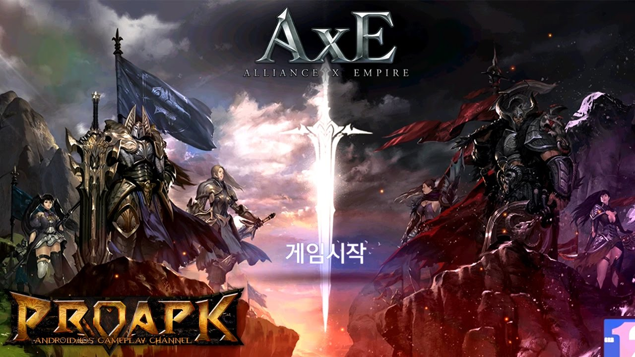 AxE - Alliance x Empire - 액스(AxE) CBT