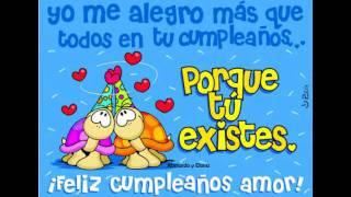 Feliz Cumple Mi Amor !!.wmv