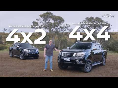 2018 NISSAN - 4x2 Vs  4x4 Ute Comparison