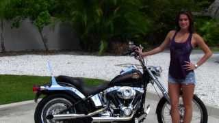 8. Used 2010 Harley-Davidson FXSTC Softail Custom Motorcycles  for Sale
