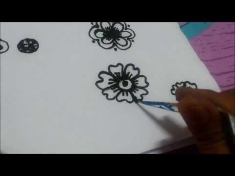 Simple Mehndi Step By Step : Henna
