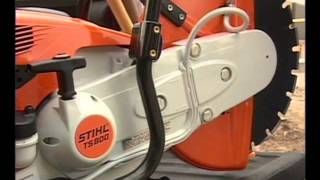 STIHL – Cut-Off Machine Safety, Maintenance and Operation Video