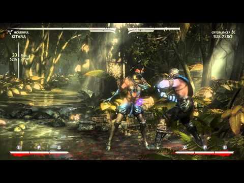 MKX Mournful Kitana Corner Infinites (видео)