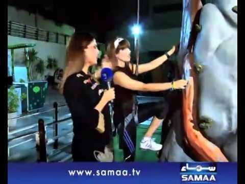 Qandeel baloch braVE girl, in sama metro