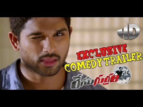 Race Gurram Latest Exclusive Comedy Trailer  Allu Arjun Shruti Haasan Surender Reddy