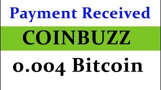 Website Link:- https://coinbuzz.club/?ref=TechnicTechHi friends welcome to Technic Tech channel and today I am going to share Coinbuzz Payment Proof  Earned 0.004 Bitcoin without single Investment  Unlimited Trick Added.******************************************************************JOIN Technic Tech Whatsapp Group & Support us : https://chat.whatsapp.com/E1WSGkIMN551y5CzoEz2ep******************************************************************Like My Facebook Page :- https://www.facebook.com/TechnicTechFollow Me On Google+ :- https://plus.google.com/b/111856524282932590081Subscribe Me :- https://www.youtube.com/channel/UCn7tQqwYbs6ZLzhEN76uZ-A?sub_confirmation=1