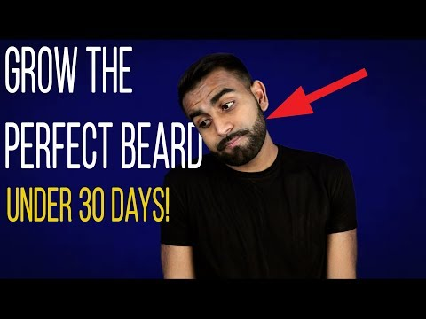 Beard oil - How To NATURALLY Grow a Perfect Beard Under 30 Days!  6 Tips For Fast & Thick Beard Growth