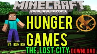 Minecraft (Xbox 360) Hunger Games - The Lost City - (DOWNLOAD)