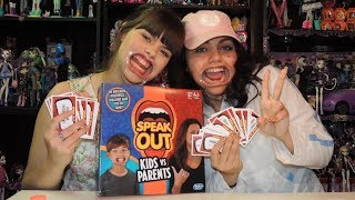 Speak Out Game by Hasbro  WookieWarrior23We are a family of toy collectors! Our videos include toy reviews, costumes, cosplay, tutorials, challenges, blind bags, vlogs, toy hunts, and stop motion videos. Drusila and Nessy love all things Monster High, plus Vamplets, Zelfs, Disney, Play Doh, and Funko. Daddy loves anything Lego, and he does a regular Daddy's Toy Hunt series. We're fun and goofy and a little bit crazy, and we like to give truthful opinions of the toys we review. We love sharing our videos with viewers around the world! Monster High Boo York Boo York Reviews Playlisthttp://youtu.be/HlvjVYoQhqIChallenges Playlist:https://www.youtube.com/playlist?list=PL3waLuL3Pk2-gULcDcrmeN6NttkR8uRJ5Toy Hunting Videos Playlisthttps://www.youtube.com/playlist?list=PL3waLuL3Pk29xpmZsloUgB81q88B1pTnUDrusila Talks About Vlogshttps://www.youtube.com/playlist?list=PL3waLuL3Pk2-zLjg_AflX4vKoX5QmGlkGBlind Bags Fever Videoshttps://www.youtube.com/playlist?list=PL3waLuL3Pk29gdX71OkFPzInCTjv44bKGMonster High Halloween Costumes and Cosplayhttps://www.youtube.com/playlist?list=PL3waLuL3Pk2_2WP4hKQ8_dpXaZVlSN4U9Monster High SDCC Exclusive Dolls Reviewshttps://www.youtube.com/playlist?list=PL3waLuL3Pk28sle3rpHRgsT8uGCe7aSr1Custom Dolls Videos https://www.youtube.com/playlist?list=PL3waLuL3Pk2-40nNY81VeFoKONmMA0g27Follow us :http://instagram.com/wookiewarrior23ythttps://www.flickr.com/photos/wookiewarrior23https://plus.google.com/+WookieWarrior23