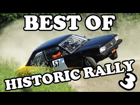 Historic Rallying - On the limit and beyond 3 !