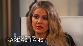 "KUWTK | Khloé Kardashian Says Not Having Bruce Is a ""Huge Blow"" 