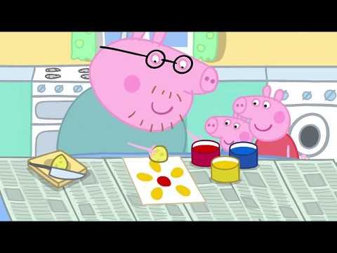 Peppa Pig en Español Episodios completos Pintura 2   Dibujos Animados