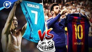 Video CR7 imite la célébration de Messi au Camp Nou | Revue de presse MP3, 3GP, MP4, WEBM, AVI, FLV Agustus 2017