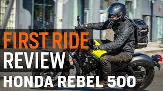 6. 2017 Honda Rebel 500 First Ride Review at RevZilla.com