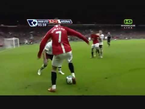 Cristiano Ronaldo Nice Footwork vs. Arsenal