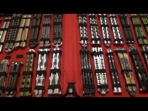 I Bought A New Knife Storage Case...A BIG One...
