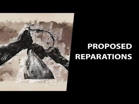 Proposed Reparations for Descendants of America's Slaves — Considerations and Calculations