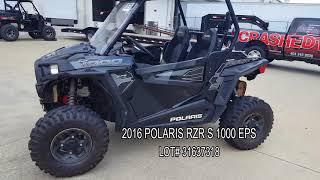 10. 2016 POLARIS RZR S 1000 EPS