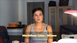Testimonianza di Allineamento Divino - MariaRosa Celsa