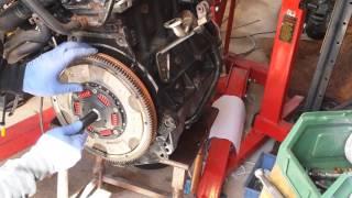 Audi TT 225 clutch installation single mass flywheel APX bam