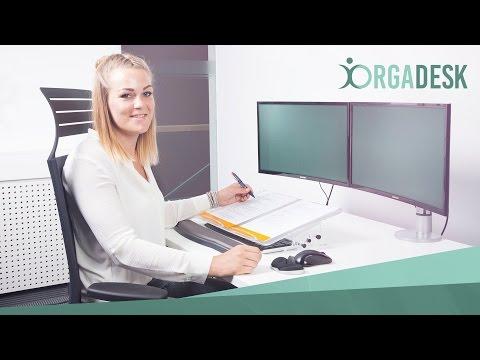 Orgadesk Dokumentenhalter |  Konzepthalter, Vorlagenhalter, Schreibpult, Lesepult