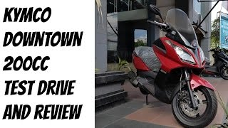 4. Kymco Downtown 200cc Test Drive Review