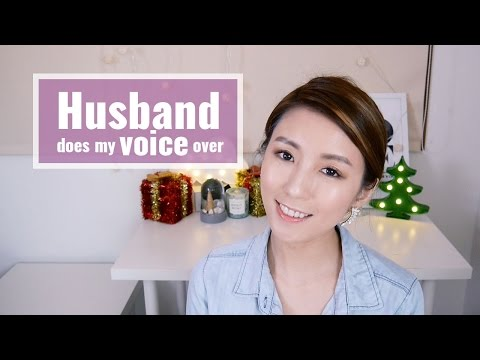 Husband does my voice over 老公配音彩妝教學