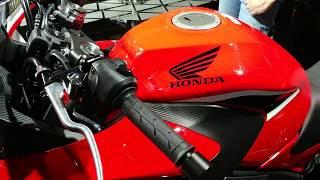 7. 2018 Honda CBR 650F Walkaround in Hindi   Auto Expo 2018   MotorOctane