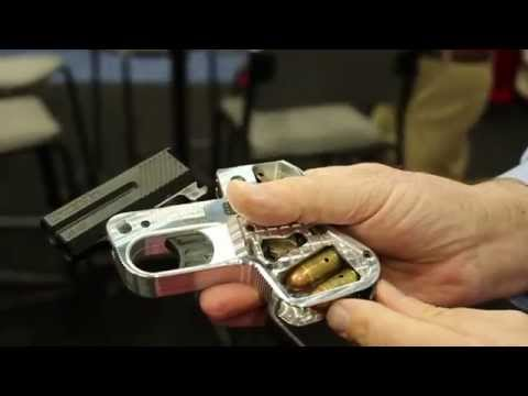 Concealed Carry Pocket Pistol DoubleTap Defense Hank Strange at 2014 NRA Annual Meeting