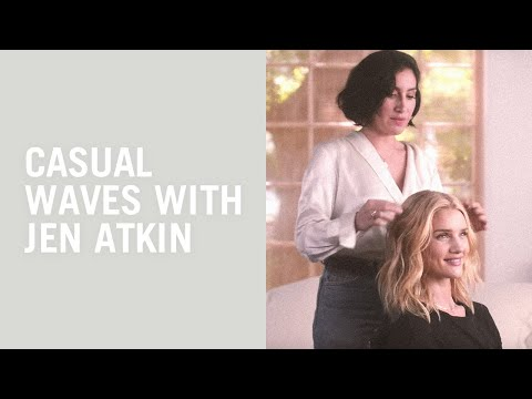 Hair tutorial: Waves with Rosie Huntington-Whiteley and Jen Atkin