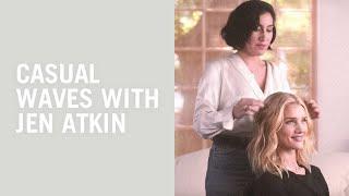Jen Atkin gives Rosie Huntington-Whiteley her signature waves