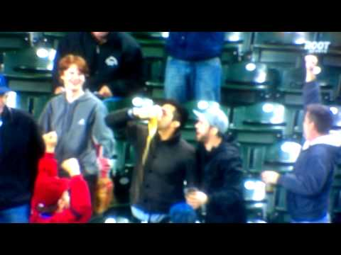 Mariners Fan Catches Foul Ball In Beer Cup