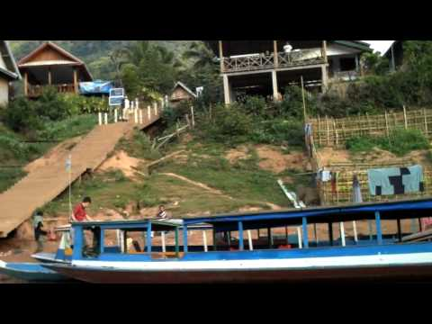 Up the Nam Ou River to Muong Ngoi Village in Laos