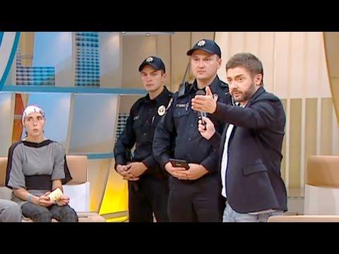 """Полиция арестовала героев ток-шоу """"Говорить Україна"""" прямо во время эфира"""