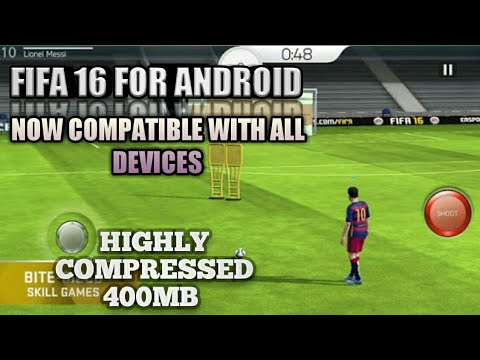 DOWNLOAD FIFA 16 FOR ANDROID HIGHLY COMPRESSED ONLY 400 MB AND COMPATIBLE FOR ALL DEVICES!!