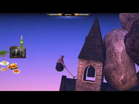 Dread's stream | Getting Over It with Bennett Foddy | 29.12.2017