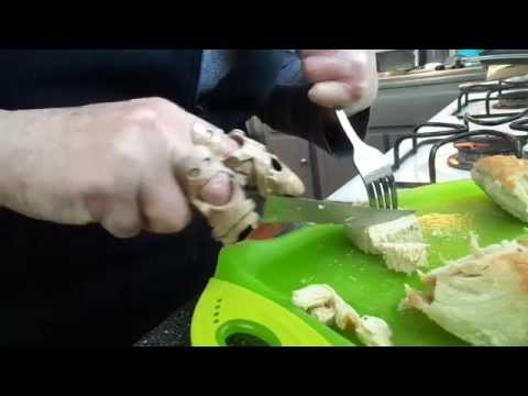 Click to watch Carving Chicken with the Help of a Prosthetic