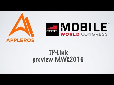 TP-Link preview MWC2016 por Appleros