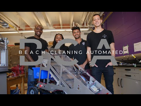 Beach Cleaning Automated - GoFundMe Video