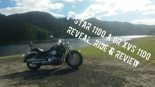 7. XVS 1100 or V-Star 1100 Reveal, Ride and Review