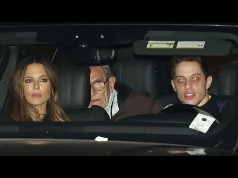 Kate Beckinsale And Boyfriend Pete Davidson Are Already Dining With Her Parents! EXCLUSIVE