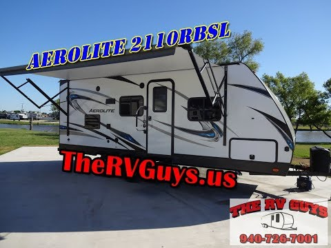 Nice And Light And OH So Right! Sleeps 4 And So Much More! 2017 Aerolite 2110RBSL