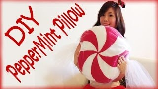 DIY Peppermint Pillow - YouTube