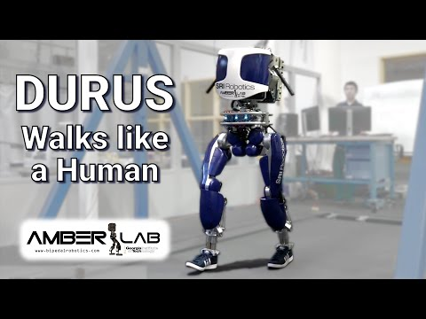 DURUS A Robot Built to Walk Like a Human