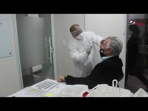 Equipe do Sindicato de Atletas realiza testes de Covid-19 e prepara retorno às atividades