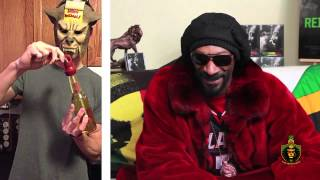 Snoop Is Deeply Impressed By This Weird Beer Bottle Bong Contraption
