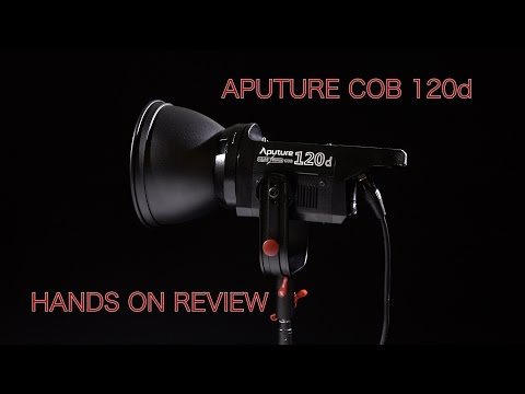 Aputure COB 120d Hands On Review