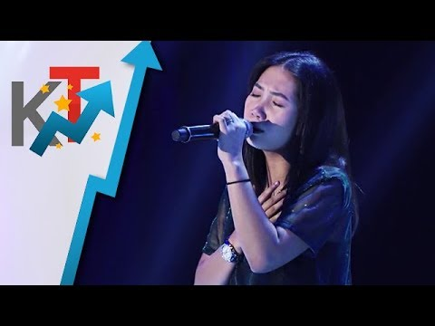 Aly Fabellar performs Diamonds for her blind audition in The Voice Teens